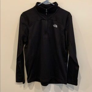 The North Face 1/2 zip polyester pullover